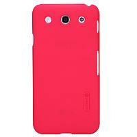 Чехол Nillkin для LG E980 Optimus G Pro красный (+пленка)