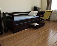 """Кровать детская подростковая """"Бонни"""" 80*160/80*150 деревянная массив бук"""