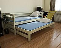 """Кровать детская подростковая """"Бонни"""" 90*200/90*190 деревянная массив бук, фото 1"""