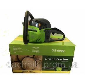 Бензопила Grune Garten GG-6000 (2шины 2цепи ), фото 2