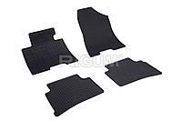 Коврики резиновые в салон Hyundai Tucson 15- RIGUM Комплект из 4-х ковриков Черный в салон