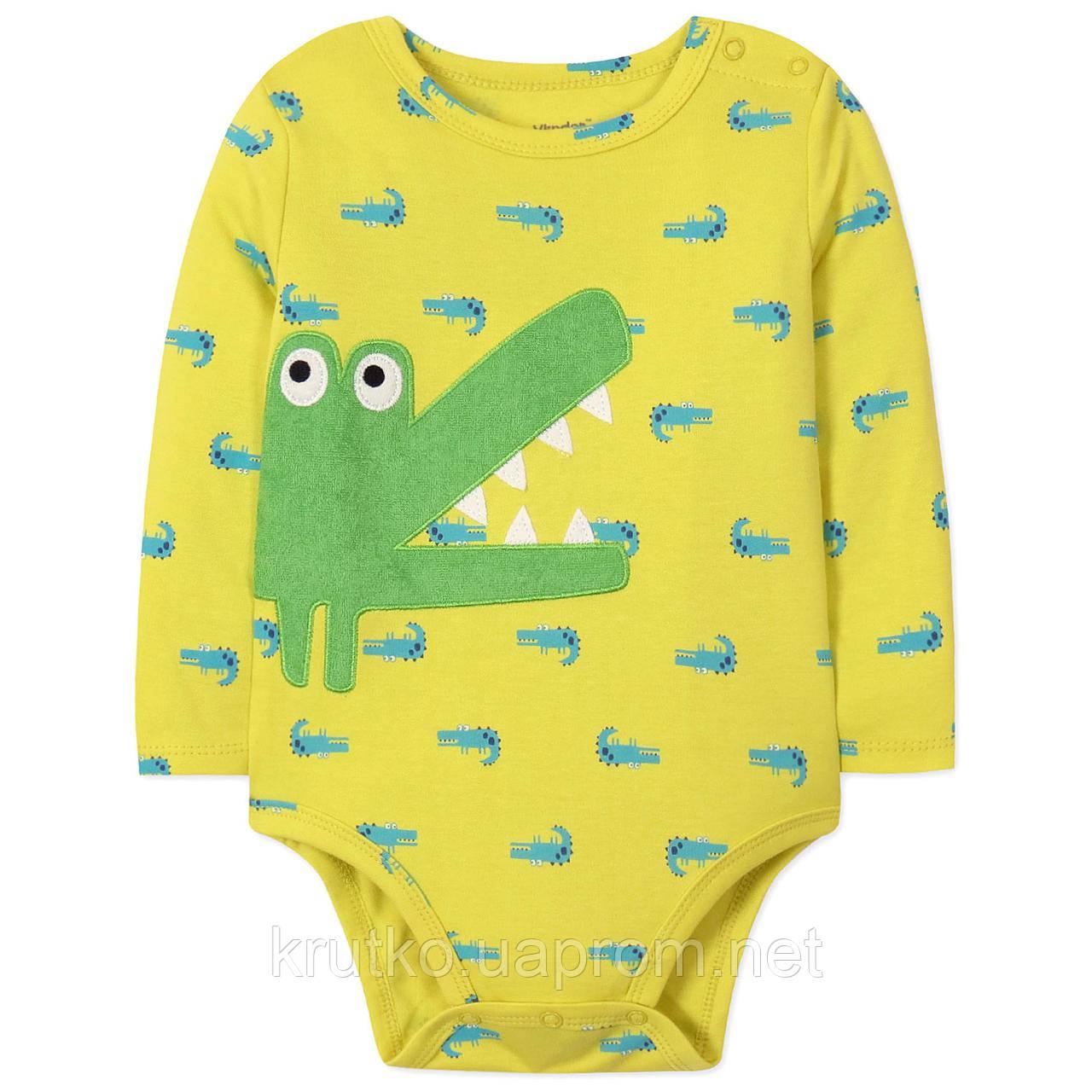 Боди для мальчика Крокодил Vlinder