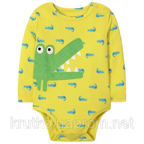Боди для мальчика Крокодил Vlinder, фото 2