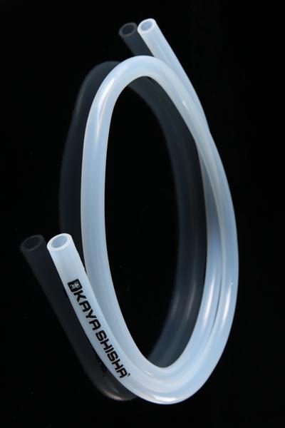 Силиконовый шланг Silicone Hose с Kaya-logo,белый
