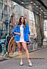 Яркий молодежный полушубок - меховой свитер на змейке, фото 5