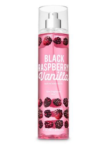 Мист для тела Bath&Body Works Black Raspberry Vanilla