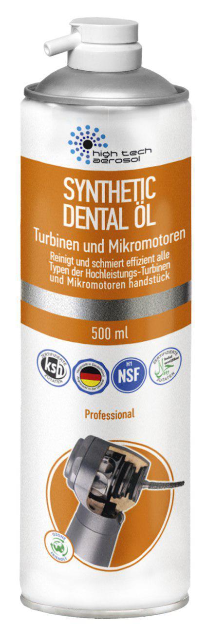 Synthetic Dental Oil, масло - спрей для турбинных и мокромоторных наконечников, 500мл.