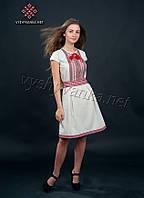 Жіноче плаття вишиванка з коротким рукавом, арт. 1013