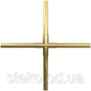 Золотые шпроссы на окна 8мм