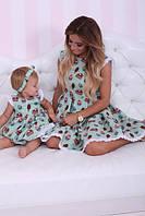 Платье пирожное мама и дочка , фото 1