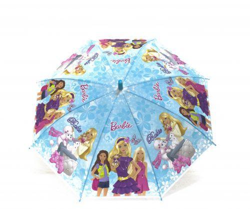 """Детский зонт """"Барби"""" (голубой) K204F"""