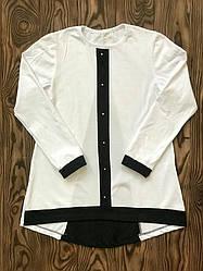 Блуза для дівчинки шкільна оптом