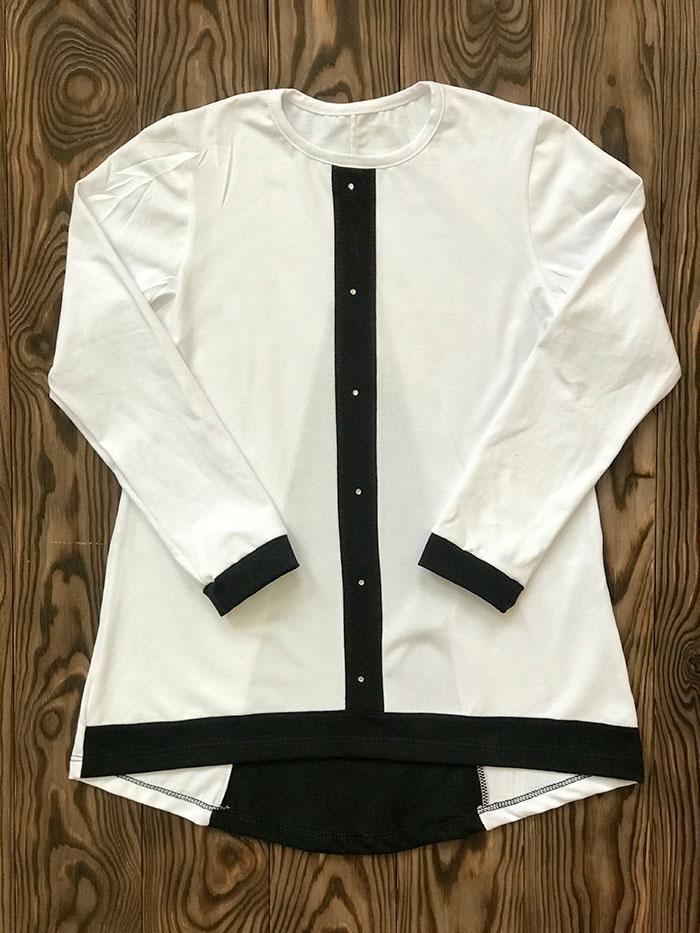 Блуза для девочки школьная оптом