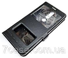 Чехол книжка с окошками momax для Nokia 3.1 Plus