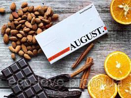 Шоколад ручної роботи з мигдалем і апельсином AUGUST