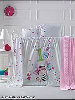 Детский постельный набор + плед  LaRomano, фото 1