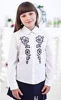 Блузка Свит блуз мод. 5015 с вышивкой р.134, фото 1