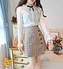 Женский пуловер с длинным рукавом 44-46 (в расцветках), фото 2
