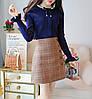 Женский пуловер с длинным рукавом 44-46 (в расцветках), фото 5