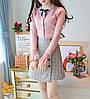 Женский пуловер с длинным рукавом 44-46 (в расцветках), фото 3