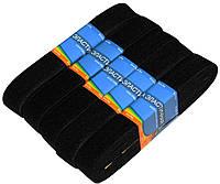 """Резинки для одежды """"EuroTextile"""" (30mm/5m) черные, тесьма эластичная полиэстер"""
