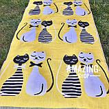 Пляжний рушник | Банний рушник | Двостороннє рушник | Натуральна | Бавовна 100%. Розмір 140*75см., фото 3