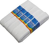 "Резинки для одежды ""EuroTextile"" (30mm/5m) белые, тесьма эластичная полиэстер"