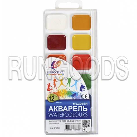 Акварель «Классика» 12 цветов «Луч» 18,5×8 см, фото 2