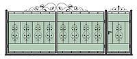 Ворота кованные модель ВК-03
