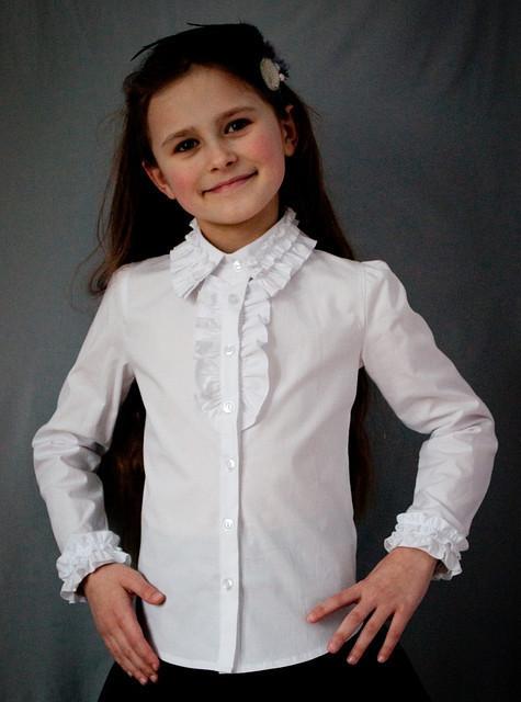Блузка Свит блуз мод. 2010 белая  р.140