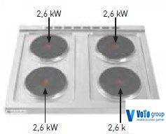 Плита электрическая Hendi 226223, фото 2