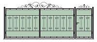 Ворота кованные, модель ВК-04