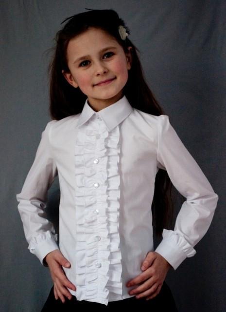 Блузка Свит блуз мод.2050 белая р.140