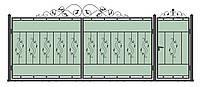 Ворота кованные. модель ВК-05