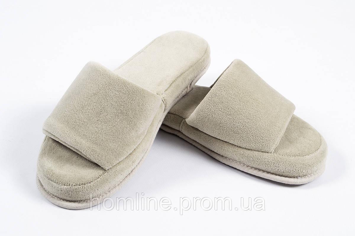 Тапочки для дома, женские и мужские, домашняя обувь Tac Тапочки Nico cakil 40-44 бежевый