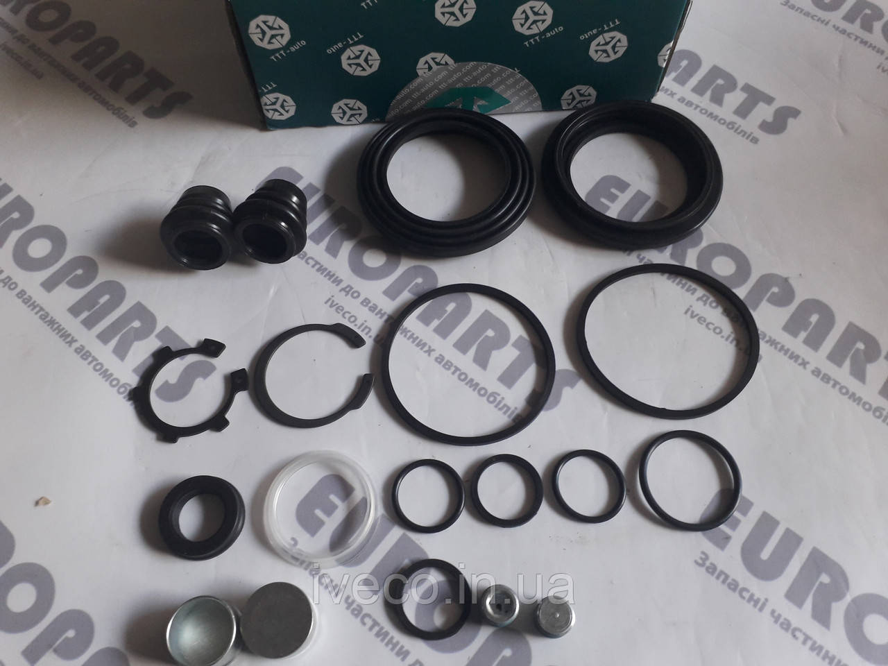 Ремкомплект гальмівного супорта IVECO EuroCargo, 93161471, 93161034, AUG55179