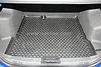 Коврик в багажник Шевроле Авео с 2012-,,сед. ,цвет:черный, производитель NovLine