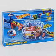 """Игровой набор Hot Wheels """"Покраска авто"""" / Трек-запуск """"Hot Wheels"""" 3098 / инерционная машинка меняет цвет"""