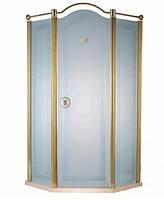 Душевая кабина с золотым профилем Devit Charlestone FEN2031MR