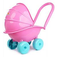 Детская коляска для кукол пластиковая складная