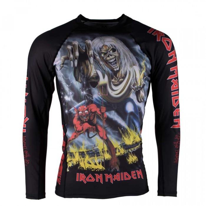 Рашгард с длинным рукавом TATAMI Iron Maiden Number of the Beast