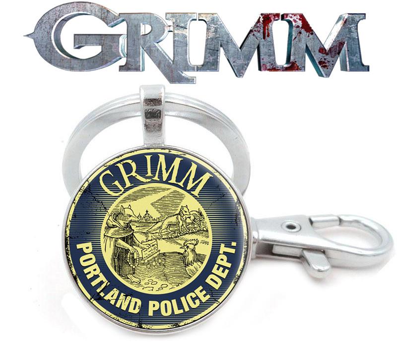 Брелок Гримм / Grimm атрибутика с символикой сериала