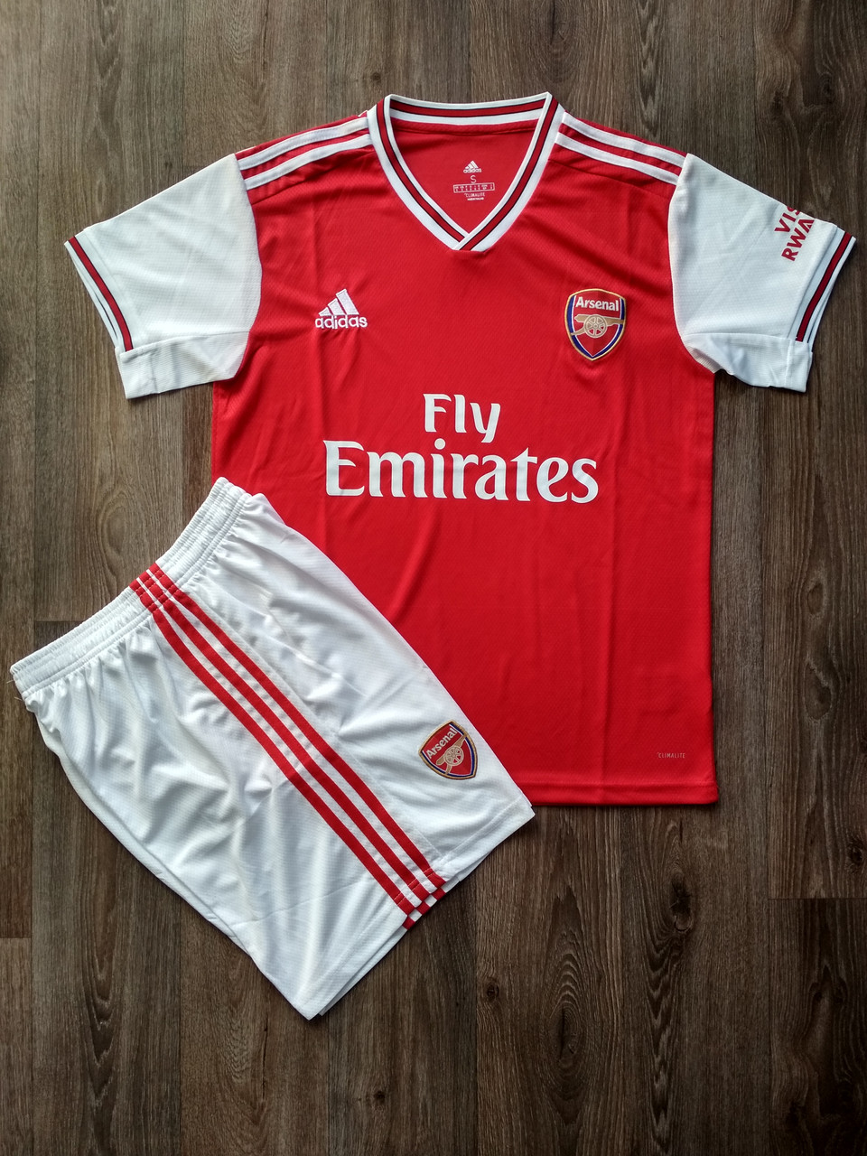 Футбольная форма Арсенал/Arsenal ( Англия, Премьер Лига ), домашняя, сезон 2019-2020