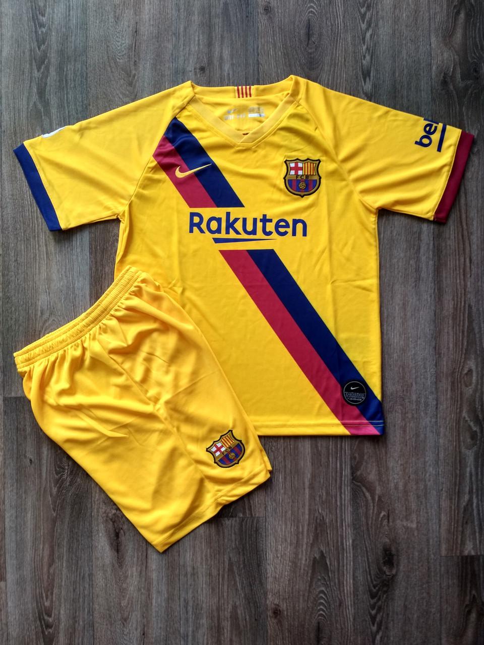 Футбольная форма Барселона/Barcelona ( Испания, Примера ), выездная, сезон 2019-2020