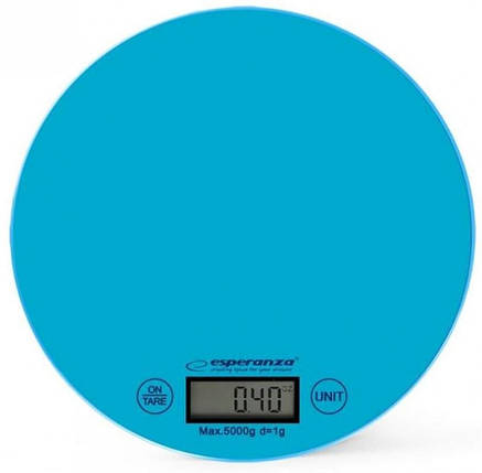 Весы кухонные Esperanza EKS003B, электронные весы для кухни, електронні кухонні ваги, фото 2