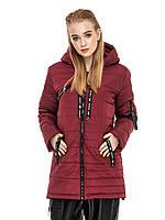Женская удлиненная куртка прямого кроя Астара