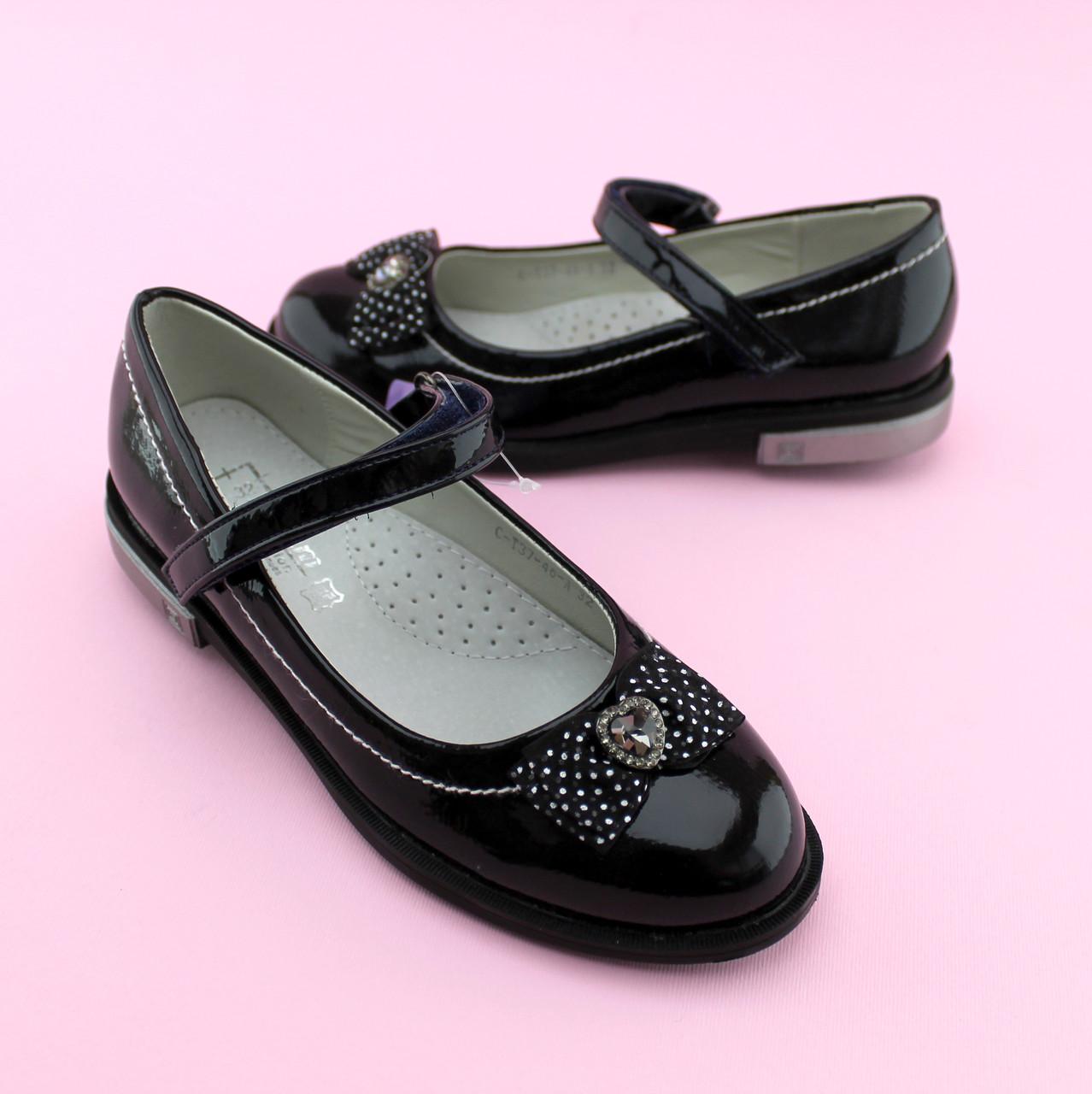 Лаковые туфли для девочки  тм Том.М размер 32,36