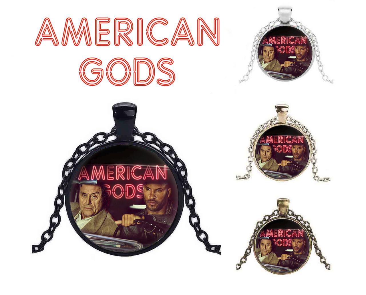 Кулон Американские боги / American Gods с Одином и Тенью