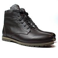 Ботинки зимние коричневые кожаные мужские Rosso Avangard Night Whisper Brown, фото 1