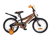 Велосипед 16 RACE посил.Рама-9 St чорно-помаранч (м)OPS-FRK-16-048 ТМFORMULA